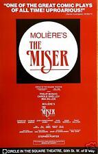 THE MISER Broadway Window Card - Philip Bosco
