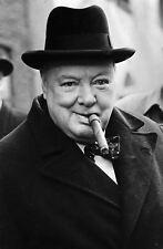 Enmarcado impresión Winston Churchill (imagen Guerra Mundial 2 primer ministro británico)