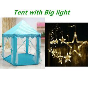 Kid Play Castle Tent Outdoor Garden Folding Toy Children Birthday christmas Gift