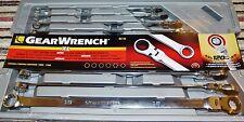 GearWrench 86126 Metric Flex head Universal Spline XL120xp Box Ratchet Spanners