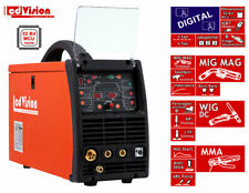 3in1 Schweissgerät MIG MAG WIG TIG MMA E-Hand SYN MTS-2180 HF Schutzgas 230V
