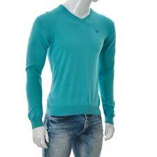 GANT Jungen Kinder V-Ausschnitt Gestrickt Sweatshirt Lang Arm Größe 170cm/15yrs