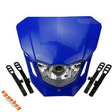 Universal Street Fighter Motorcycle Head Light Fairing For YAMAHA YZ250 YZ450F