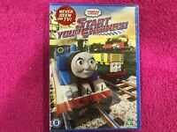 Thomas & Friends DVD Start Your Engines IN Inglese Nuovo New Sigillato