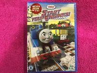 TOMAS & FRIENDS DVD START YOUR ENGINES EN INGLES NUEVO NEW PRECINTADO