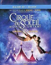 Blu Ray CIRQUE DU SOLEIL - *** Mondi Lontani 3D + Blu Ray ***......NUOVO