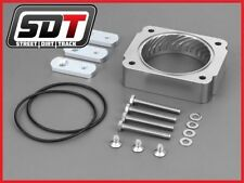 SDT 1997-2003 Ford F-150 High Performance Silver Throttle Body Spacer 4.6L 5.4L