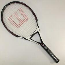"Wilson (K) Factor (K) Zero Tennis Racket Racquet 118"" OS, 4 1/4"" Grip."