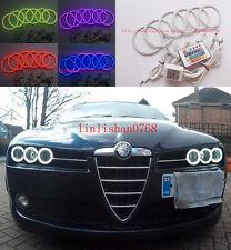 6pcs RGB Multi-Color Angel Eyes kit Halo ring For Alfa Romeo 159 2005-2011