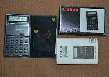 Calcolatrice Canon LC-64T Card quartz, Vintage, Japan, Calculator boxed