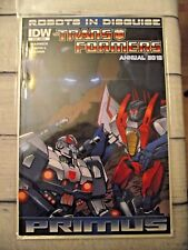 IDW Robots in Disguise Transformers Annual 2012  Primus CVR A VF/NM