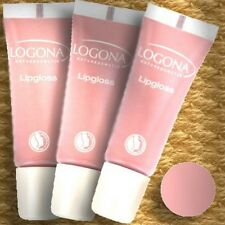 Logona Double Pack Lipgloss Rose 2 Natural Cosmetics Organic Vegan Anti-Aging Care 10ml