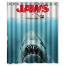 "New Jaws Waterproof Bathroom Shower Curtain 60"" x 72"""