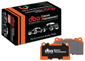 DBA XP Performance Brake Pad Set Front DB1678XP fits Subaru Liberty 2.5 GT (B...