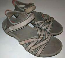 Women's Teva Sandals Sz 7 / 38 Tan / Taupe Open Toe Strappy Hiking