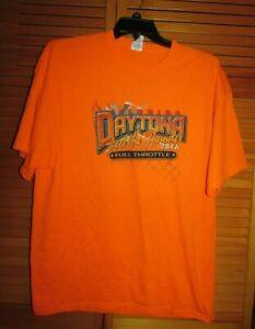 Florida Daytona Racing 2016 Feel The Thunder men's t-shirt 2XL Full Throttle GUC