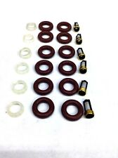 FUEL INJECTOR REPAIR KIT O-RINGS, PINTLE CAPS FILTERS JAGUAR LINCOLN V6