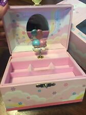 New 2002 Sanrio LITTLE TWIN STARS Wooden Musical Jewellery Box