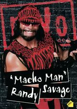 """ Macho Man "" Randy Savage, 1998 Topps Wcw / Nwo Wrestling Sticker / Karte #S3"