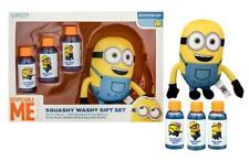 MINIONS 4PC BATH Kids Gift Set Despicable Me (shampoo, bubble bath, washy)