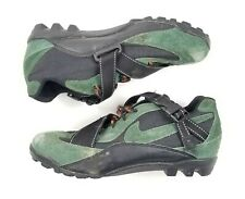 Vintage 96 Nike ACG Mens Size 9.5 Green Black Cycling Mountain Shoes 184014-331