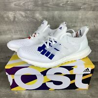 Adidas Ultra Boost 1.0 Undefeated Stars and Stripes White Red Blue EF1968 Size 5