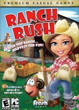 Ranch Rush (PC Game) Design your own Farmer's Market Ranch. 80 levels. Farm Sim