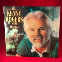 The Kenny Rogers Story 1985 UK Vinyl LP Best of greatest Hits EXCELLENT CONDITIO