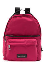 NEW MARC JACOBS Large Nylon Backpack Top Handle Carnation PINK $250+ AUTHENTIC!
