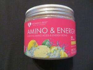 Women's Best Amino & Energy Blend Ice Tea Lemon Flavor 9.5 Oz 30 Servings ^4