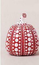 Yayoi Kusama Pumpkin Dot Ornament Living Art Pumpkin Figurine