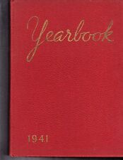 1941 Roosevelt Jr. High School Yearbook - NAMES IN LISTING!