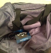 Callaway Sport Duffle Bag Small Gray And Black New
