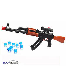 Toy Rifle AK47 Shooting Water & Soft Crystal Bullet Perfect Gift and Affordable