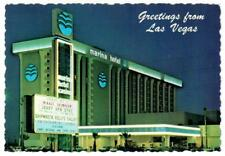 Marina Closed Las Vegas Hotel Casino Vintage Postcard Jerry Van Dyke Shipwreck a