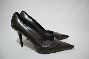 ALDO Size 10 Women's Black Leather Classy Pointy Stiletto (Eye Candy Alert)