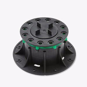 MESA Paving Support Pedestal Risers - Adjustable 80-130mm - Pack of 10
