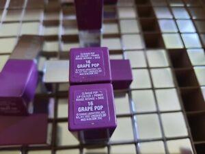 3 x stück Drei stück CLINIQUE Lippenstift Pop Lip Colour 16 Grape Pop neu