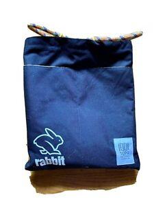 Topo Designs x Rabbit 3 pocket Running track sack/bag Black/yellow