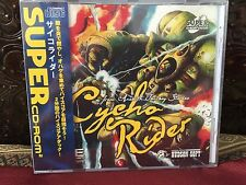 NEW Cycho Rider for PC Engine Turbografx Turbo Duo