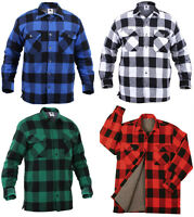Flannel Jacket  Sherpa Lined Extra Heavyweight Buffalo Plaid Rothco
