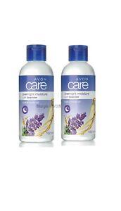 2 x Avon Care Lavender Overnight Moisture Bath & Body Oil 150ml each