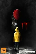 IT DVD NEW Region 4 movie based on Stephen King's book