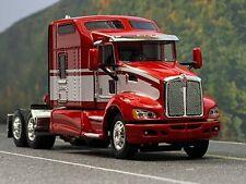 """1/64 DCP RED/WHITE KENWORTH T660 W/ 86"""" SLEEPER"""