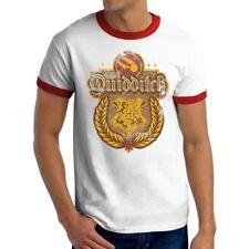 Harry Potter - Quidditch Tshirt Ringer Unisex Licensed White Official