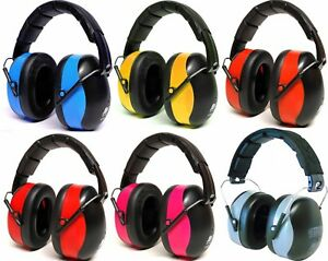 ADULT FOLDING EAR DEFENDERS EAR MUFFS EARMUFFS SNR 30dB PRO QUALITY PROTECTION