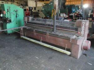 Niagara Model 910 Mechanical Power Squaring Shear