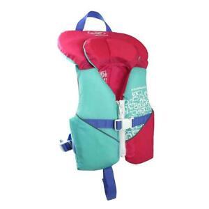 Stohlquist Infant Life Jacket Pink/Aqua