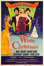 WHITE CHRISTMAS Movie POSTER 27x40 D Bing Crosby Danny Kaye Rosemary Clooney
