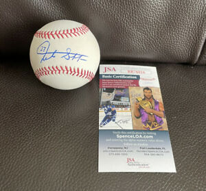 Giancarlo Stanton Signed Official MLB Baseball #27 + JSA Coa New York Yankees